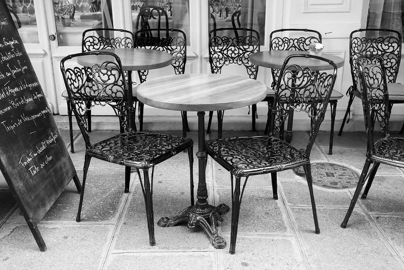 Paris Sidewalk Cafe