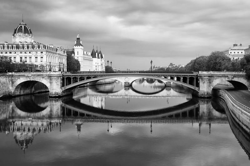 Paris Seine Reflections