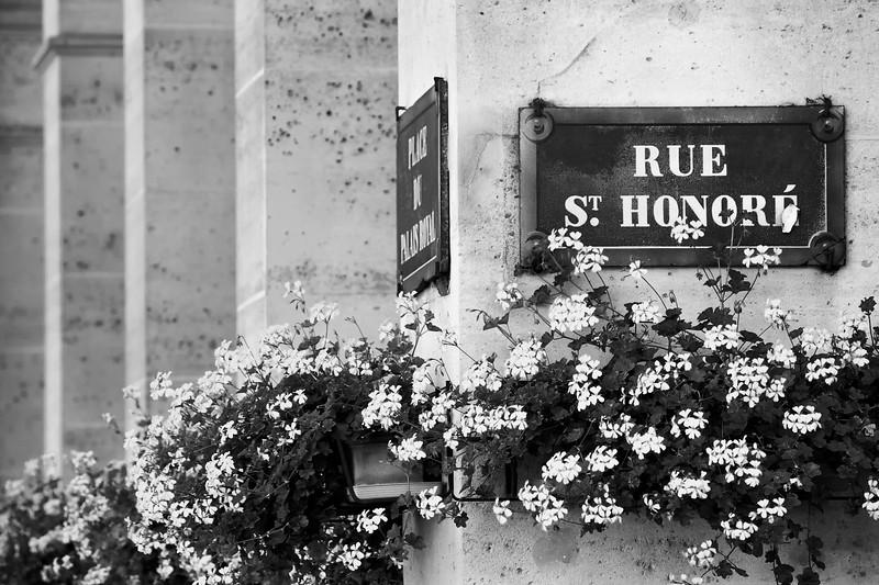 Paris Rue St. Honoré