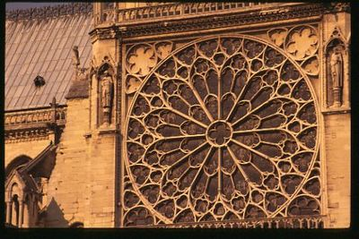 Notre Dame south window