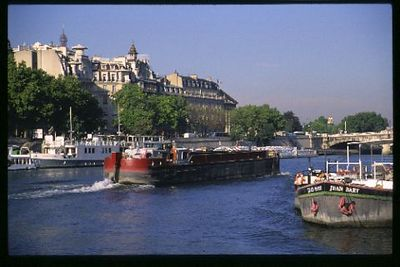 Busy Seine River