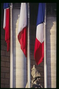 Tricolors, Assemblee National Palais-Bourbon