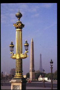 Place de la Concorde to Eiffel Tower