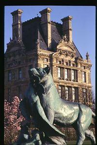 Tuileries Lion, Tuileries Garden