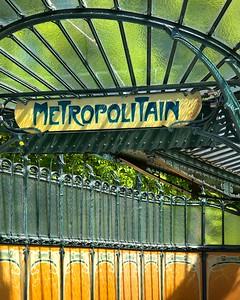 Paris Art Nouveau Metro