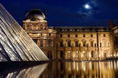 Louvre Full Moon