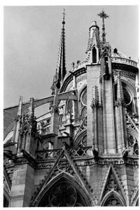 Notre Dame - east end