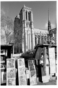 Notre Dame and booksellers