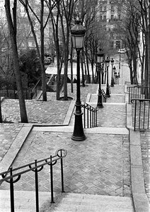 Montmartre staircase