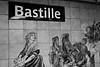 The Bastille Metro Stop. (DG)