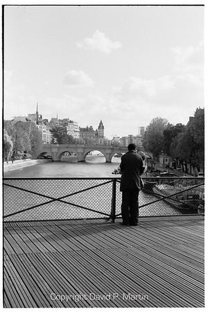 On the Pont du Arts