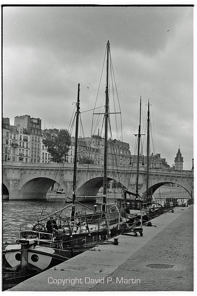 Boats by the Seine