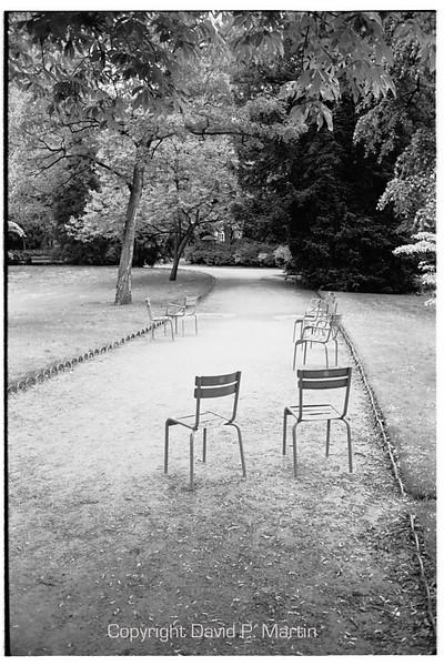 In the Jardin du Luxembourg.