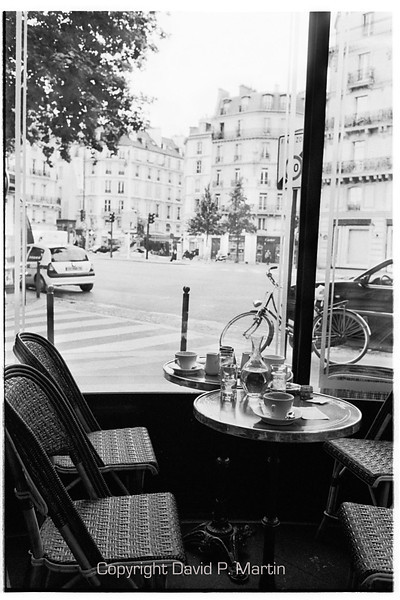 Breakfast at the Cafe de Flore