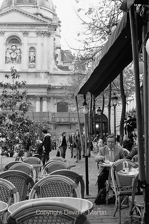 Cafe near the Sorbonne.