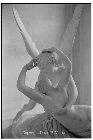 Psyche Revived by Cupid's Kiss in the Louvre.
