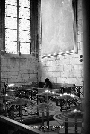 A side chapel inside Notre Dame.