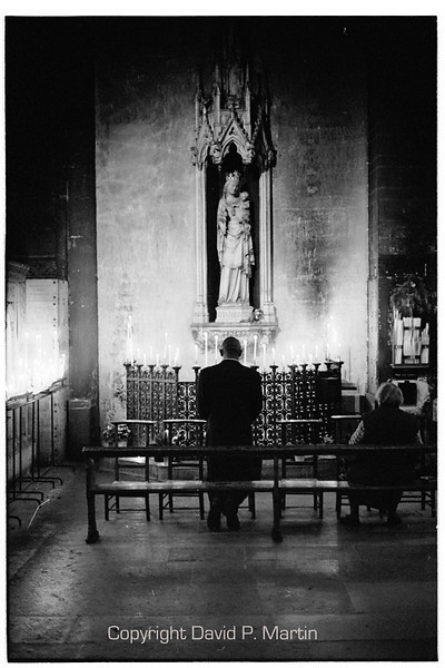 A private chapel.