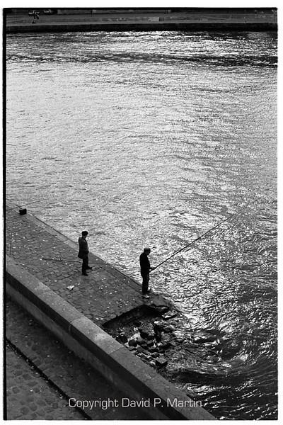 Fishermen by the Seine.