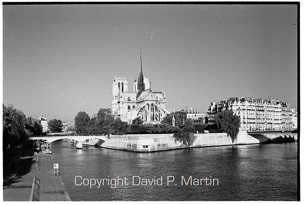 Notre Dame on the Ile de la Cite.