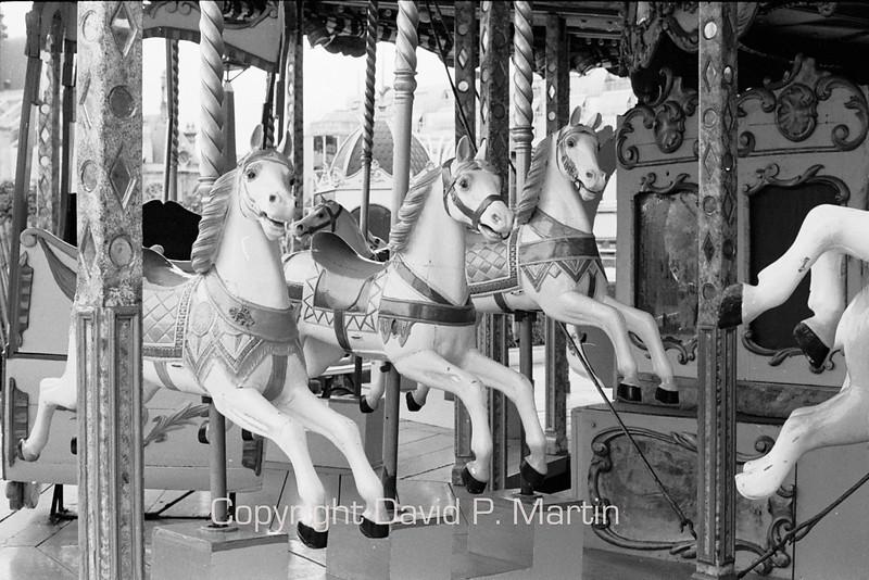 A carousel in Paris.