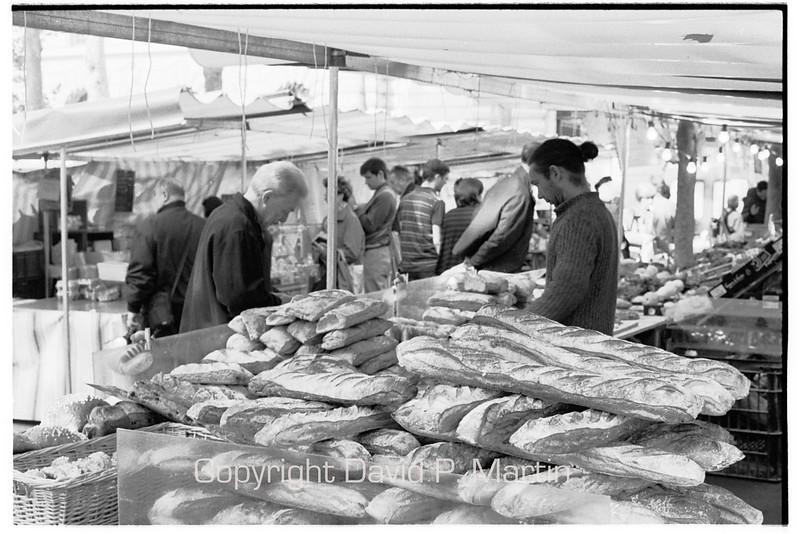 The market at the Place du Monge.