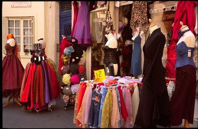 Dress shop in the 5th Arrondissement