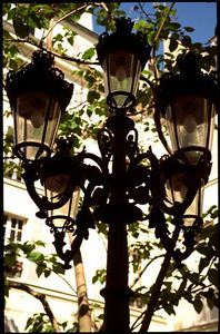 Lamp post,  rue de Furstemberg