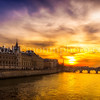 Sunset on Conciergerie II ...