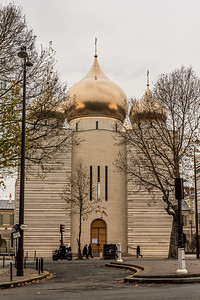 Russian Orthodox Cathedral in Paris.