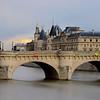 France; Ile de France; Paris (75); Orangerie; Pont Neuf; La Seine // France; Ile de France; Paris; Orangerie, Pont Neuf bridge; Seine River