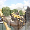 The Nyphmes of the Seine  The Ponte Alexandre 111 arch bridge, Close up, statue on bridge
