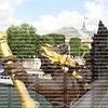 The Nyphmes of the Seine  The Ponte Alexandre 111 arch bridge, Close up, statue on bridge