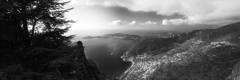 View from Eze