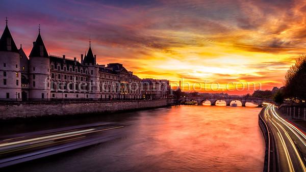 Sunset on Conciergerie ...