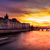 Sunset on Conciergerie ...