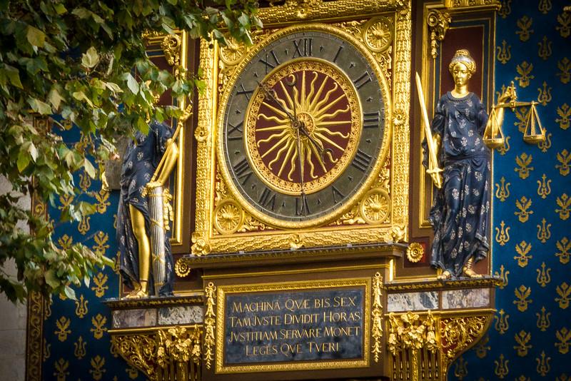 Gilded Clock