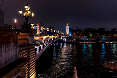 Paris night lights...