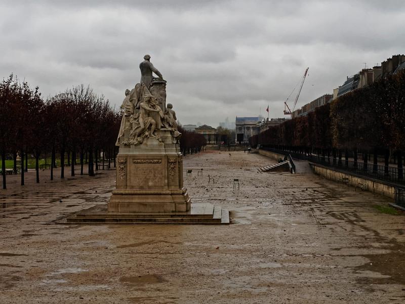 Paris, Tuilerien, Statue des Jules Ferry