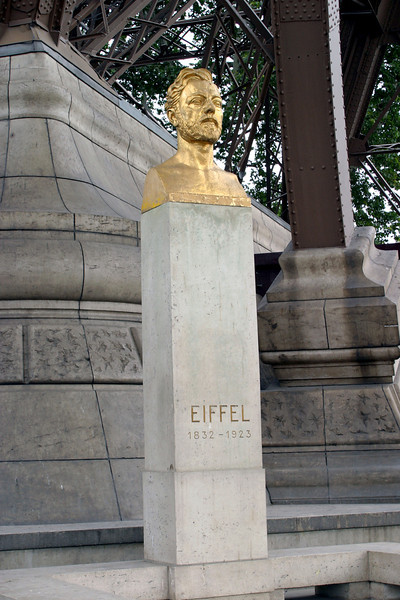 Gustave Eiffel - designer of the Eiffel Tower in Paris