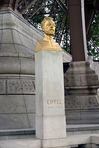 Gustave Eiffel - designer of the Eiffel Tower in Paris