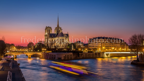 Blue Hour on Notre Dame