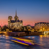 Blue Hour on Notre Dame
