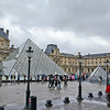 The Pyramid of the Louvre