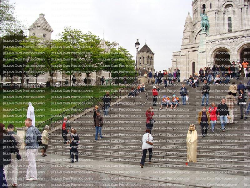 Steps at Sacred Heart