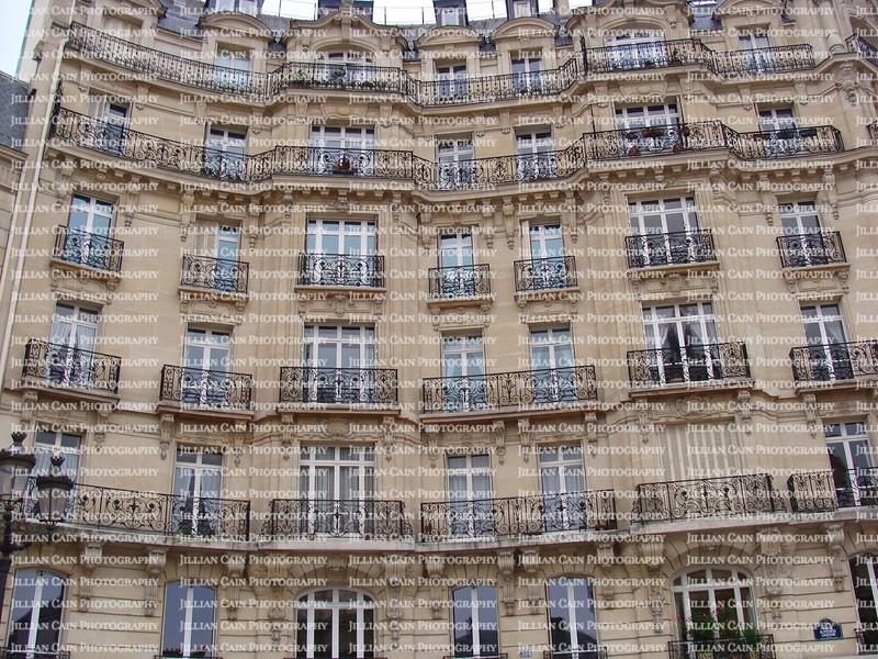 Apartment building in Paris