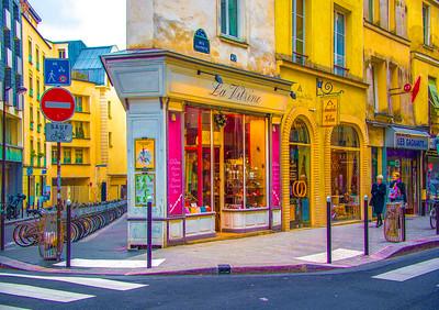 'La Vitrine (sur Rue Dauphine),' Paris 2016.