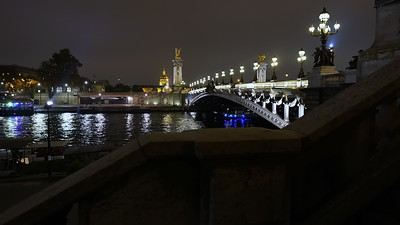 Paris night lights