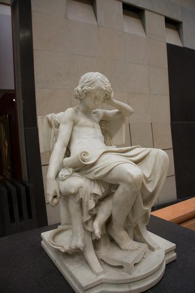Aristotle as a young boy