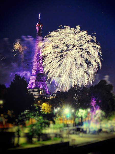 Bastille Day in Paris. 2016.